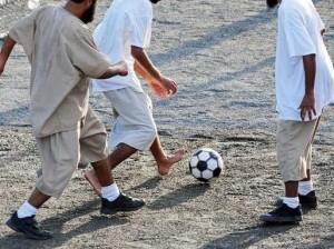 prisoners gitmo soccer