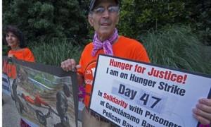 Guantánamo protest, Washington DC, July 2013