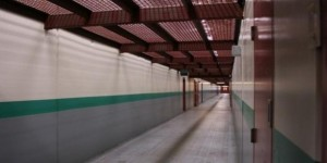 SHU_Pelican_Bay_California long corridor